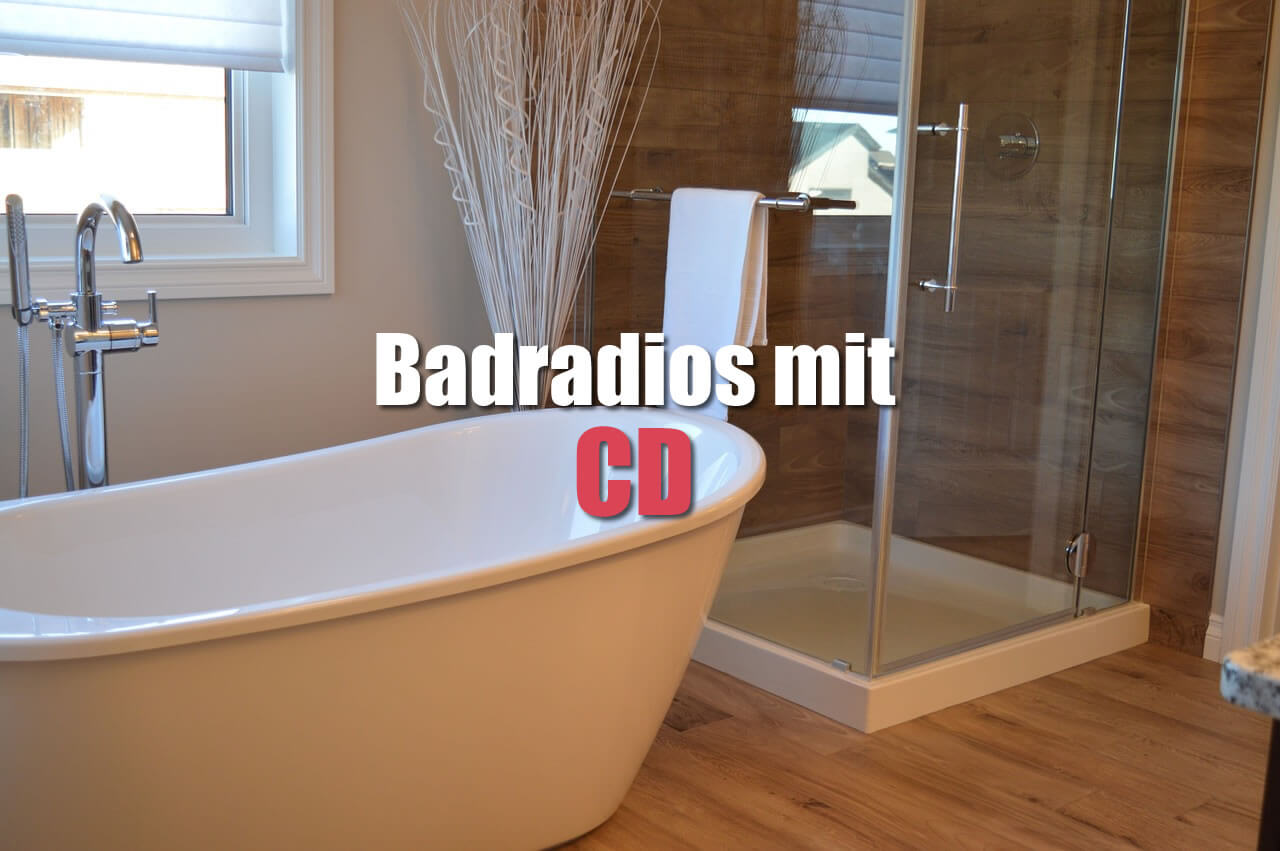 badradio mit cd badradio. Black Bedroom Furniture Sets. Home Design Ideas