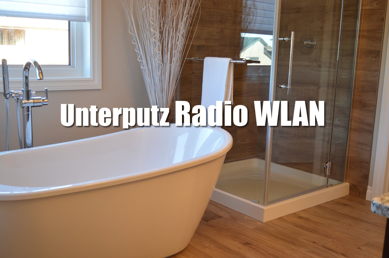 unterputz radio wlan badradio. Black Bedroom Furniture Sets. Home Design Ideas